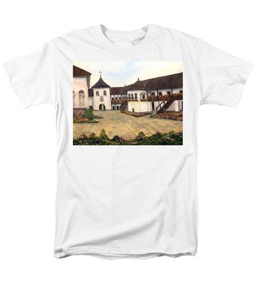 Polovragi Monastery - Romania Men's T-Shirt  (Regular Fit) by Dorothy Maier