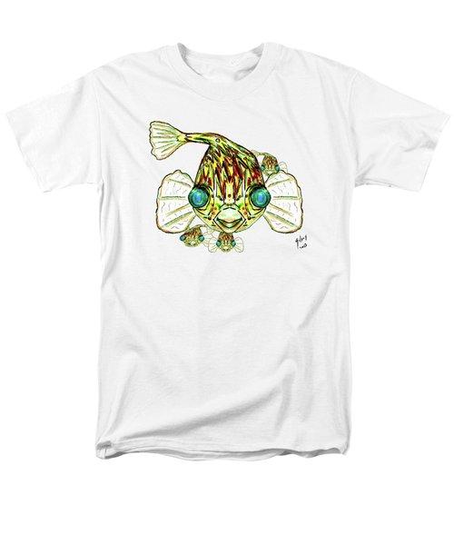 Puffer Fish Men's T-Shirt  (Regular Fit) by W Gilroy