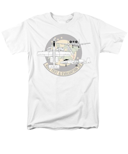 Men's T-Shirt  (Regular Fit) featuring the digital art Republic A-10 Thunderbolt II by Arthur Eggers