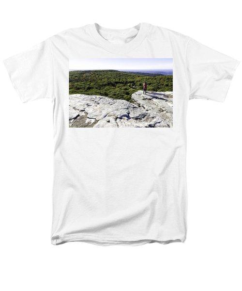 Sams Point Overlook Men's T-Shirt  (Regular Fit) by Fran Gallogly