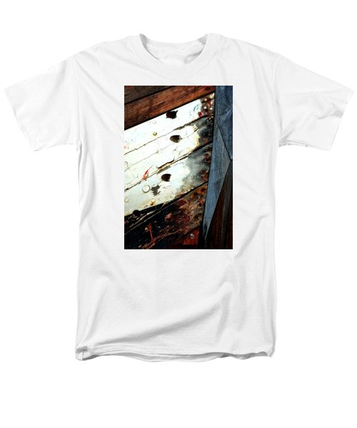 Men's T-Shirt  (Regular Fit) featuring the photograph Ship Shape by Newel Hunter
