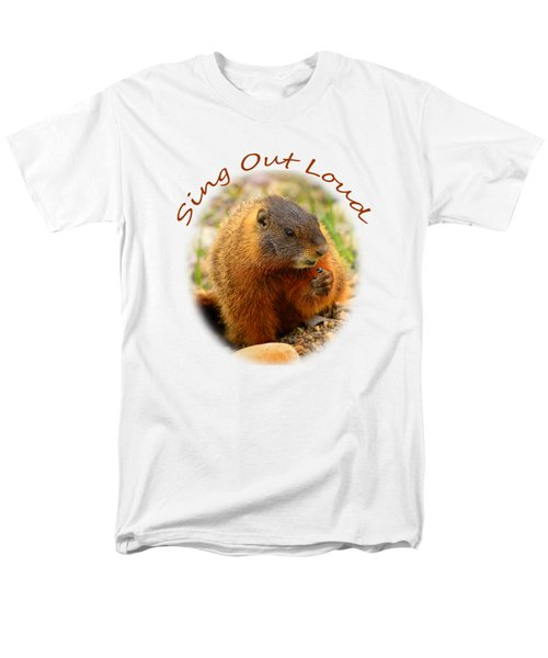 Men's T-Shirt  (Regular Fit) featuring the photograph Sing Out Loud by Greg Norrell