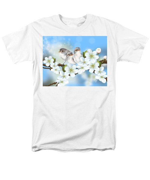 Men's T-Shirt  (Regular Fit) featuring the painting Spring Fever by Veronica Minozzi