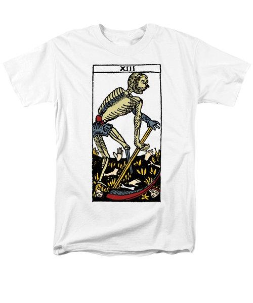 Tarot Card Death Men's T-Shirt  (Regular Fit) by Granger