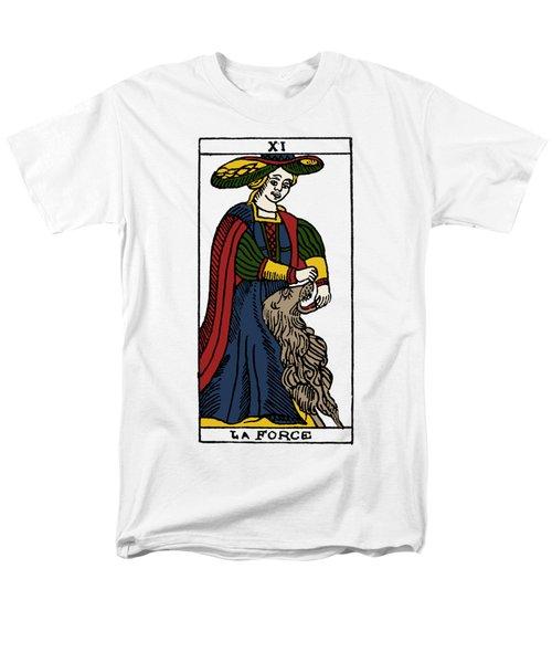 Tarot Card Strength Men's T-Shirt  (Regular Fit) by Granger