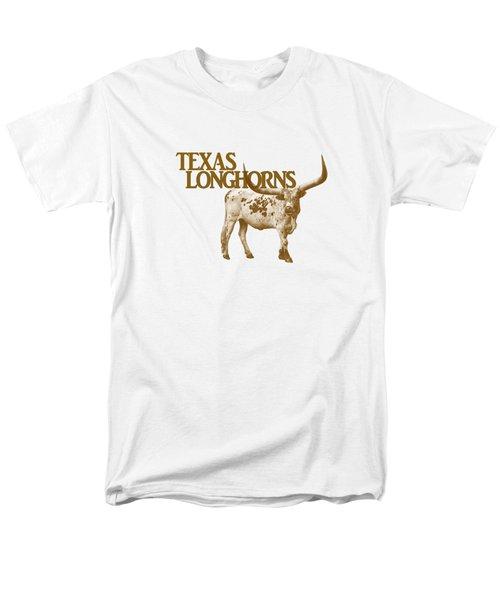 Texas Longhorns Men's T-Shirt  (Regular Fit) by Priscilla Burgers