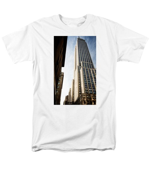 The Empire State Building Men's T-Shirt  (Regular Fit) by Sabine Edrissi