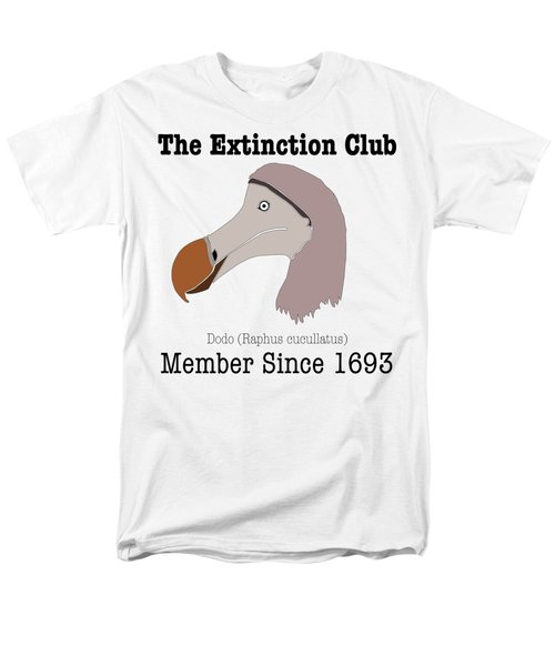 The Extinction Club - Dodo Men's T-Shirt  (Regular Fit) by Marcus England