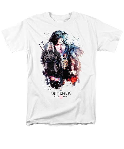 The Witcher Men's T-Shirt  (Regular Fit) by Lobito Caulimon
