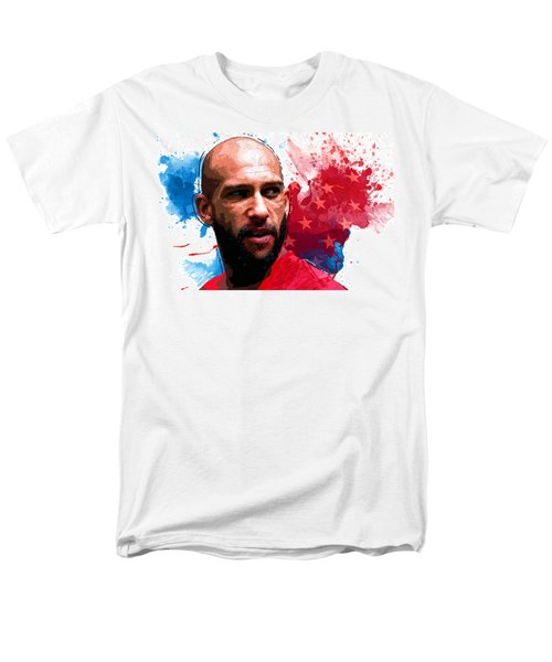 Tim Howard Men's T-Shirt  (Regular Fit) by Semih Yurdabak