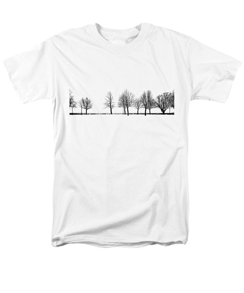 Trees Men's T-Shirt  (Regular Fit) by Chevy Fleet