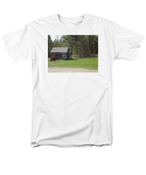 Vermont Grist Mill Men's T-Shirt  (Regular Fit) by Catherine Gagne