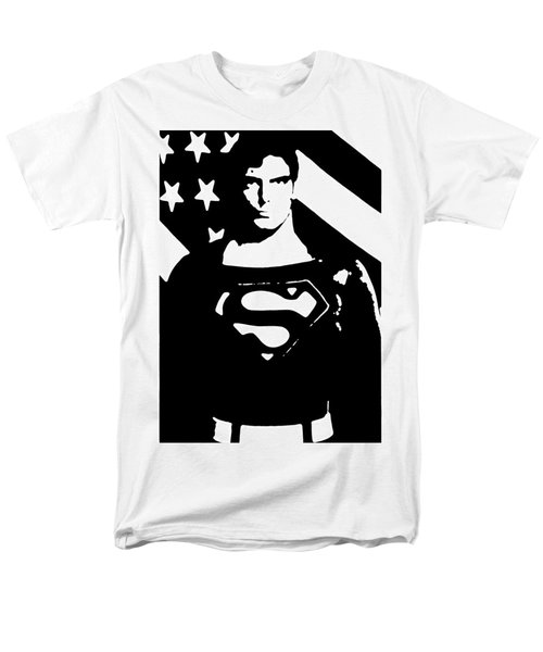 Waiting For Superman Men's T-Shirt  (Regular Fit) by Saad Hasnain