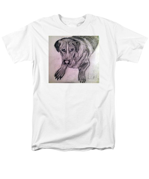 Men's T-Shirt  (Regular Fit) featuring the painting Walle by Brindha Naveen