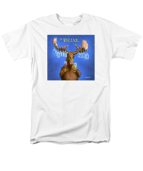 Wine Rack... Men's T-Shirt  (Regular Fit) by Will Bullas