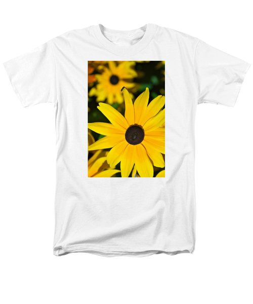 Men's T-Shirt  (Regular Fit) featuring the photograph Yellow Flowers by Bob Pardue