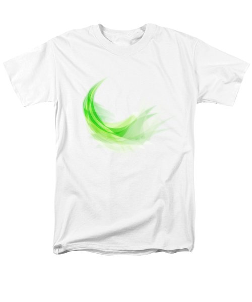 Abstract Feather Men's T-Shirt  (Regular Fit) by Setsiri Silapasuwanchai