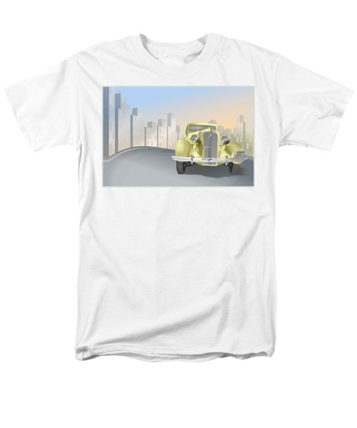 1930's Plymouth Sedan Men's T-Shirt  (Regular Fit) by Marty Garland
