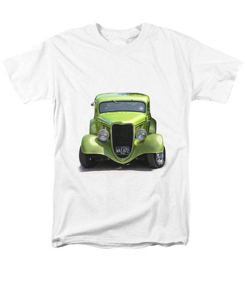 1934 Ford Street Hot Rod On A Transparent Background Men's T-Shirt  (Regular Fit) by Terri Waters
