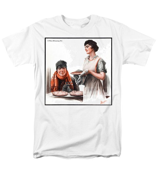 Men's T-Shirt  (Regular Fit) featuring the photograph Cover Of Country Gentleman Agricultural by Remsberg Inc