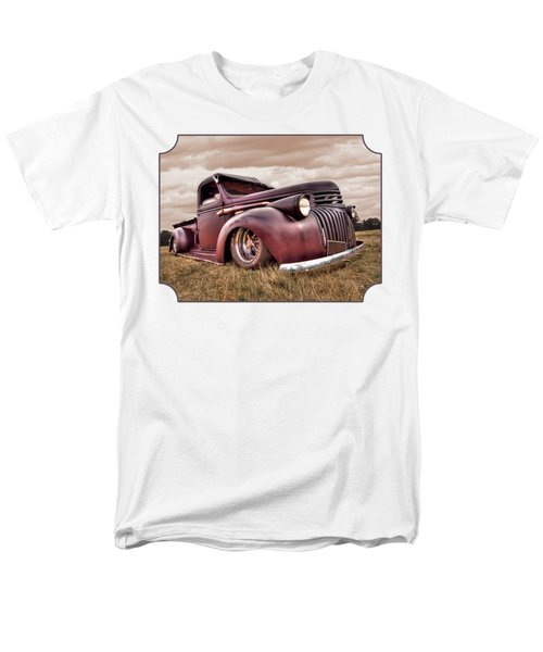 1941 Rusty Chevrolet Men's T-Shirt  (Regular Fit) by Gill Billington