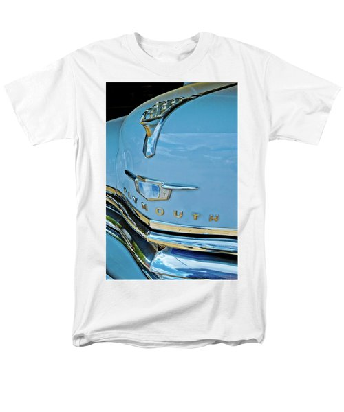 Men's T-Shirt  (Regular Fit) featuring the photograph 1950 Plymouth Coupe by Linda Unger