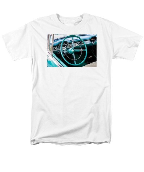 Men's T-Shirt  (Regular Fit) featuring the photograph 1955 Chevrolet Bel Air by M G Whittingham