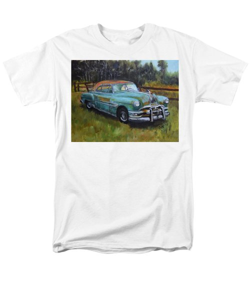1952 Pontiac Chieftain  Men's T-Shirt  (Regular Fit) by Sandra Nardone