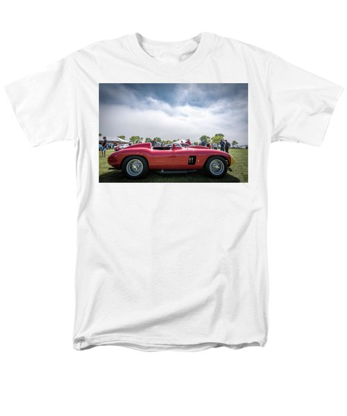 Men's T-Shirt  (Regular Fit) featuring the photograph 1956 Ferrari 290mm by Randy Scherkenbach