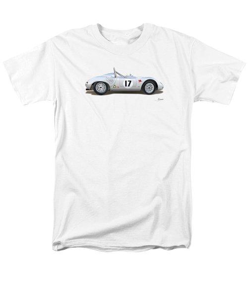 1959 Porsche Type 718 Rsk Spyder Men's T-Shirt  (Regular Fit) by Alain Jamar