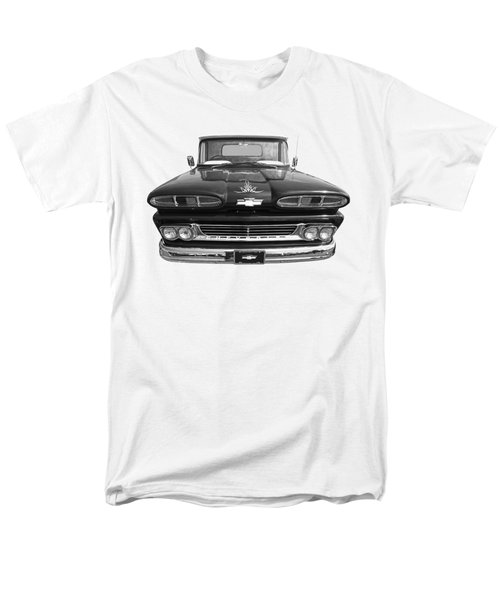 Men's T-Shirt  (Regular Fit) featuring the photograph 1960 Chevy Truck by Gill Billington