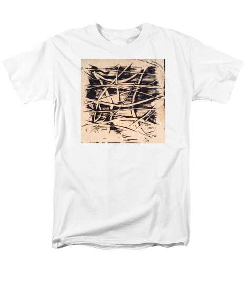 Men's T-Shirt  (Regular Fit) featuring the painting 1967 by Erika Chamberlin