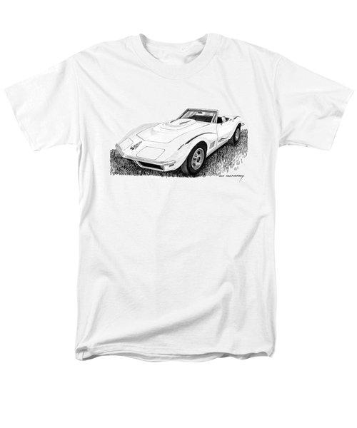 1968 Corvette Men's T-Shirt  (Regular Fit) by Jack Pumphrey