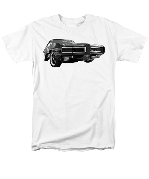 Men's T-Shirt  (Regular Fit) featuring the photograph 1969 Pontiac Gto The Goat by Gill Billington