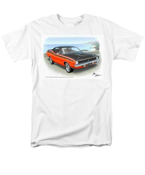 1970 Barracuda Aar  Cuda Classic Muscle Car Men's T-Shirt  (Regular Fit) by John Samsen