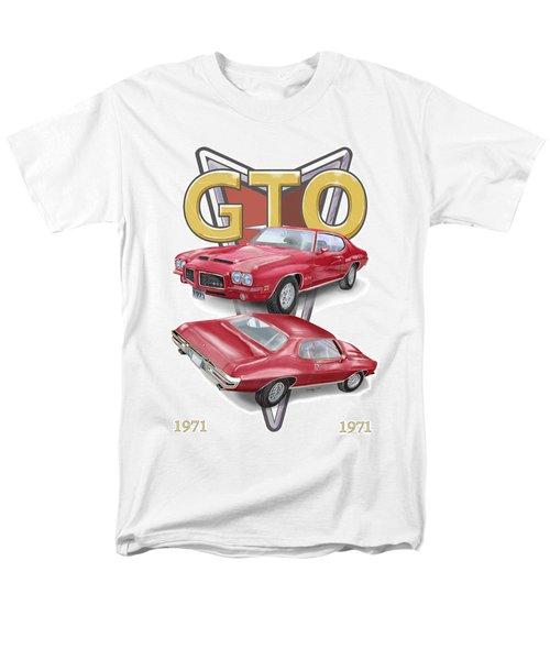 1971 Pontiac Gto Men's T-Shirt  (Regular Fit) by Thomas J Herring