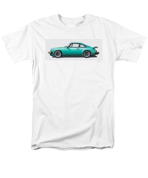 1976 Porsche Euro Carrera 2.7 Illustration Men's T-Shirt  (Regular Fit) by Alain Jamar