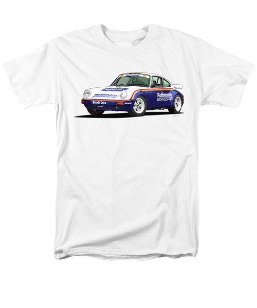 1984 Porsche 911 Sc Rs Illustration Men's T-Shirt  (Regular Fit) by Alain Jamar