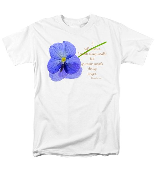 A Soft Answer Men's T-Shirt  (Regular Fit) by Larry Bishop