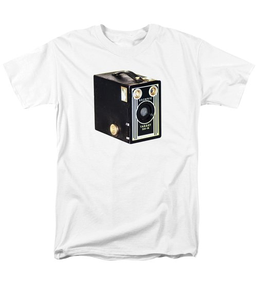 Men's T-Shirt  (Regular Fit) featuring the photograph Brownie Target Six-16 by Bill Cannon