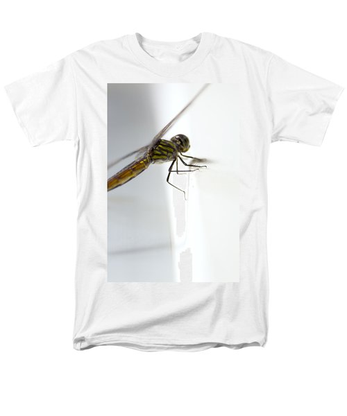 Close Up Shoot Of A Anisoptera Dragonfly Men's T-Shirt  (Regular Fit) by Ulrich Schade