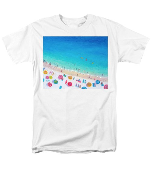 Colors Of The Beach Men's T-Shirt  (Regular Fit) by Jan Matson