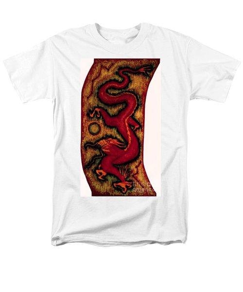 Dragon Men's T-Shirt  (Regular Fit) by Fei A