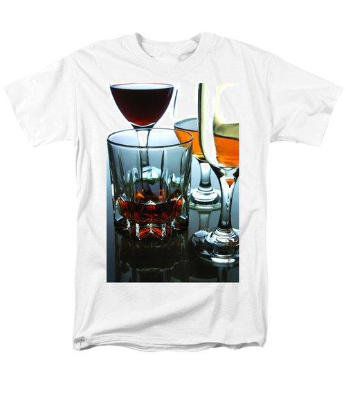 Drinks Men's T-Shirt  (Regular Fit) by Jun Pinzon