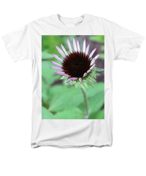 Emerging Coneflower Men's T-Shirt  (Regular Fit) by Rebecca Overton