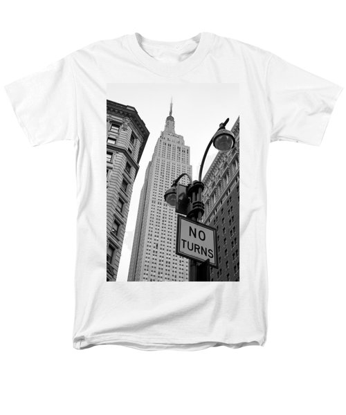 Empire State Building Men's T-Shirt  (Regular Fit) by Michael Dorn