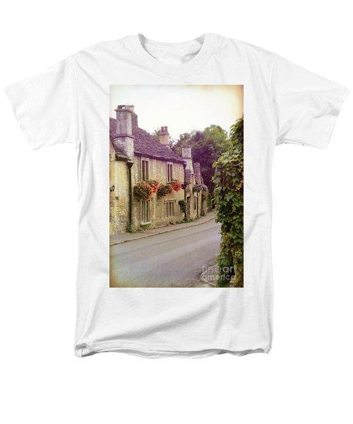 Men's T-Shirt  (Regular Fit) featuring the photograph English Village by Jill Battaglia
