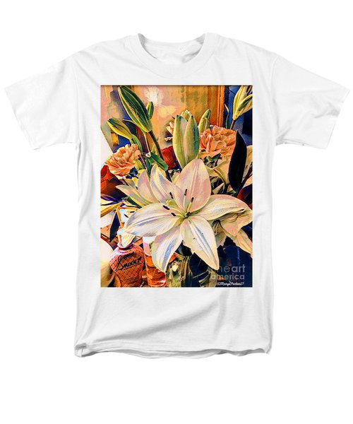 Flowers For You Men's T-Shirt  (Regular Fit) by MaryLee Parker