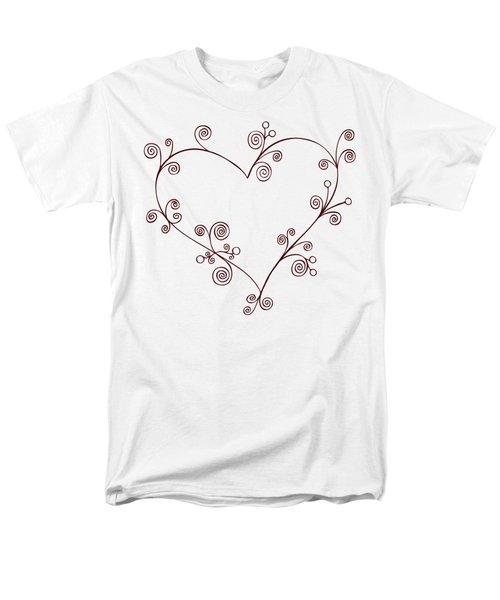 Heart Men's T-Shirt  (Regular Fit) by Frank Tschakert