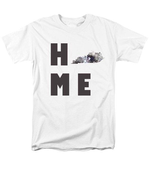 Men's T-Shirt  (Regular Fit) featuring the digital art Kentucky State Map by Marlene Watson